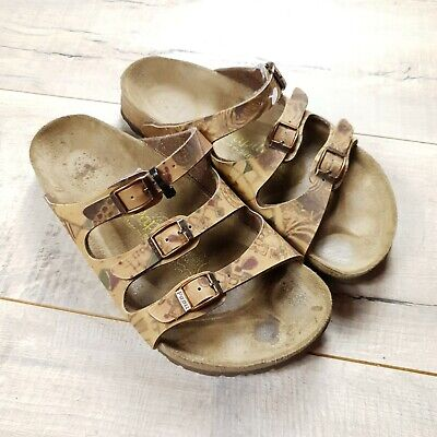 Womens Birkenstock Papillio Florida Sandals Size 38 Regular UK 5  #B26 • 28£