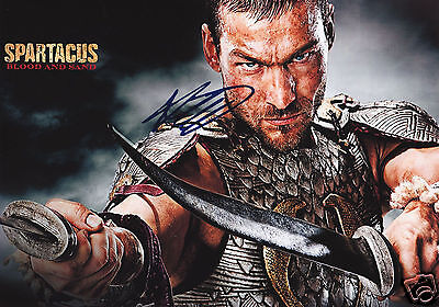 £5.49 • Buy Andy Whitfield - Spartacus Autograph Signed Pp Photo Poster