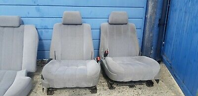 Bmw E34 Front And Rear Grey Cloth Seats  • 200£