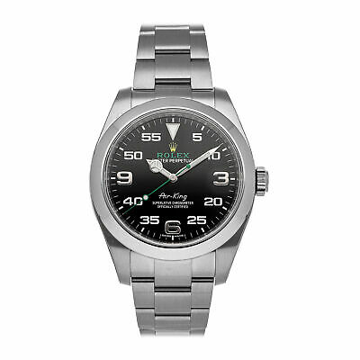 $ CDN10625.97 • Buy  Rolex Air-King Auto 40mm Steel Mens Oyster Bracelet Watch 116900