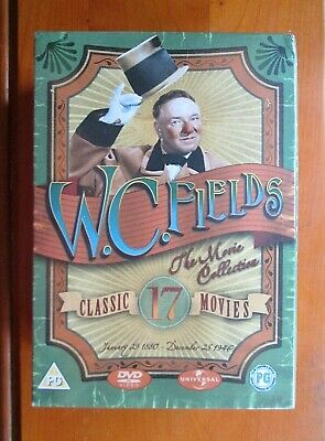 *N&S* WC FIELDS: THE MOVIE COLLECTION 10x DVD Box Set 17 FILMS [Universal, 2007] • 26.98£