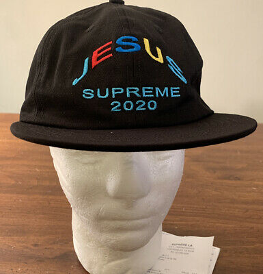 $ CDN120.65 • Buy Supreme Jesus 6-panel Hat Black Os Fw20 Week 5 (in Hand) Authentic, Brand New