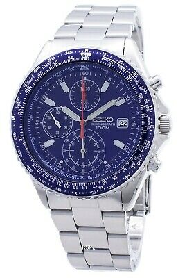 $ CDN194.41 • Buy Seiko Flightmaster Pilot Slide Rule SND255 SND255P1 SND255P Men's Watch