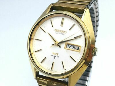 $ CDN12.07 • Buy KING SEIKO Watch 5626-8000   Automatic 18K Gold Plated Day Date   T1943