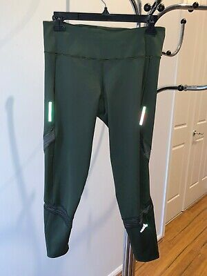 AU10.50 • Buy Adidas RUNNING Women's Leggings, CLIMACOOL, Cropped, Green, Size S, As New!
