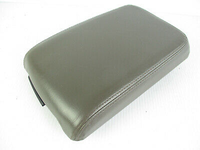 $104 • Buy Lincoln Ls Center Console Arm Rest Lid Top Pad Cover Brown Taupe Leather 03-06
