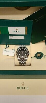 $ CDN13815.90 • Buy Rolex Datejust 41 White Gold Steel Black Dial Automatic Mens Watch 126334BKSO
