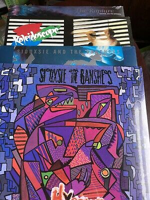 Siouxsie And The Banshees 4 LPs Kaleidoscope PEEP SHOW The Rapture HYAENA NEW • 79.99£