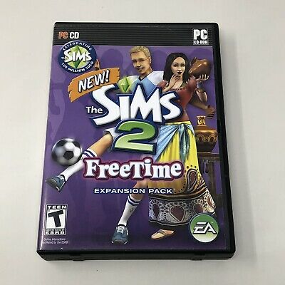 £17.42 • Buy The Sims 2: Freetime Expansion Pack - PC 2 CD-ROM Game - Complete W/ Manual