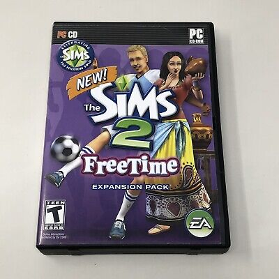 £18.58 • Buy The Sims 2 Freetime Expansion Pack PC 2 CD-ROM Video Game Complete Tested CIB