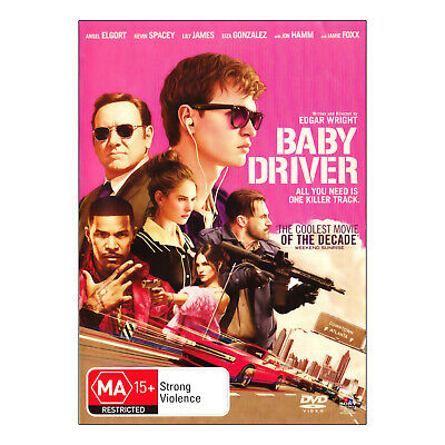 AU16.95 • Buy Baby Driver DVD Brand New Region 4 Aust - Ansel Elgort, Kevin Spacey - Free Post
