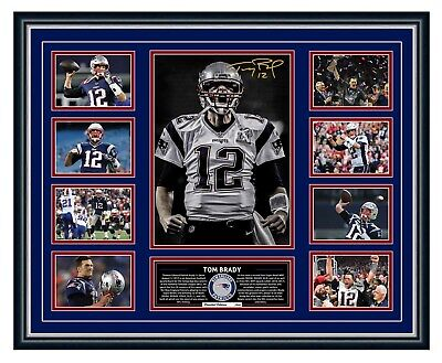 AU99.99 • Buy Tom Brady New England Patriots Signed Limited Edition Framed Memorabilia
