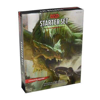 AU29.99 • Buy D&D Dungeons & Dragons Starter Set 5th Edition By Wizard RPG Team