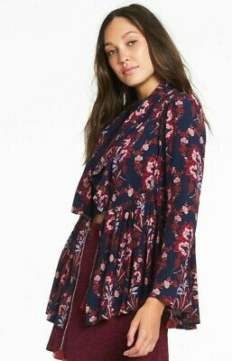 AU35 • Buy Tigerlily Paradis Floral Waterfall Jacket - Size 6 As New