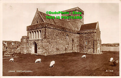 R079097 Iona Cathedral. Valentine. RP • 6.80£