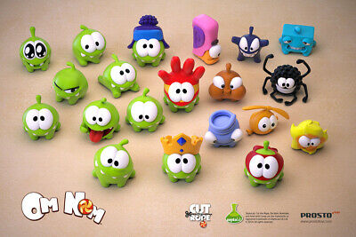 £16.08 • Buy Om Nom Figures Game/cartoon Character Cut The Rope Collectible Toy Doll Gift
