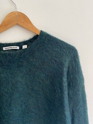 AU21 • Buy COUNTRY ROAD Mohair Blend Jumper SMALL