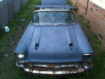 AU19500 • Buy 1957 Chevrolet Belair Convertible Project A Diamond In The Rough Chev Chevy