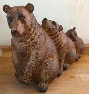 £22.99 • Buy Latex Mould For Making This Trio Of Bears
