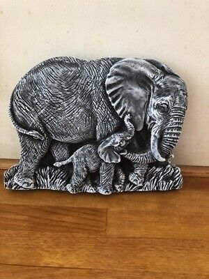 Latex Mould For Making This   Elephant Plaque • 18.99£