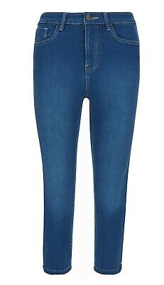 Blue Lucy Simply Be Crop Jeans/Jeggings Size 16 Length 22  Brand New Rrp £22  • 9.99£