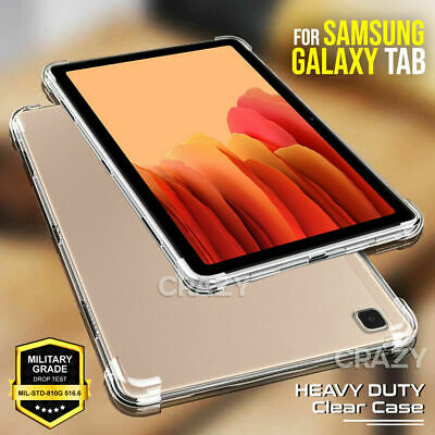 AU12.99 • Buy For Samsung Galaxy Tab A7 A7 Lite Tablet Clear Shockproof Heavy Duty Case Cover