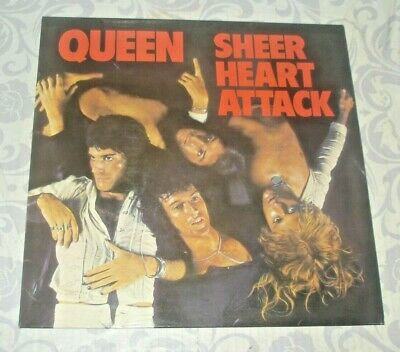 QUEEN  SHEER HEART ATTACK  3U/4U Matrix EMC 3061 ORIGINAL • 24.99£