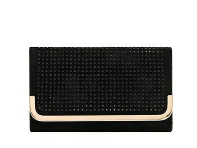 AU15.99 • Buy Brand NEW Forever New Women Candice Black Wallet Clutch Evening Bag Coin Purse