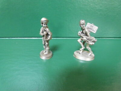 $ CDN19.62 • Buy Lot Of 2 GREAT Norman Rockwell Pewter Figurines Dave Grossman Designs 2.5  1980