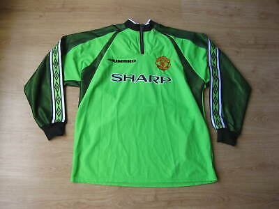 Manchester United 1998-99 Umbro Vintage Football Shirt PETER SCHMEICHEL ERA • 249£