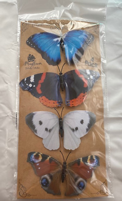 Butterfly Decorations English Garden Butterflies Clip On Indoor Or Outdoor Use • 3.25£