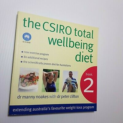 AU23.50 • Buy The CSIRO Total Wellbeing Diet Book 2: Bk. 2 By Peter Clifton, Dr Manny Noakes …