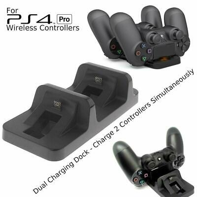 AU9.78 • Buy Dual Charger Dock Station For PlayStation PS4 PRO Wireless Controller