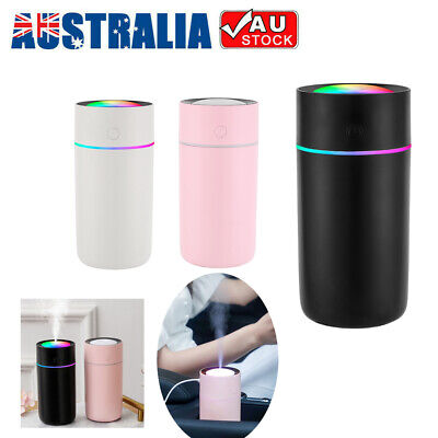 AU14.20 • Buy 320ml USB Air Humidifier Ultrasonic Cup Mist Diffuser Aroma For Car Office
