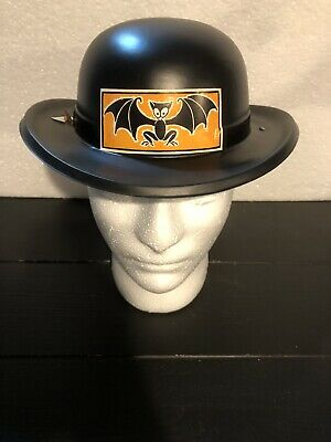 $ CDN22.15 • Buy Rare Vintage Halloween Plastic Party Derby Hat With Bat. Nos