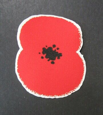 Brand New Sporting Id Premier League Football Shirt Poppy Patch = Player Size • 9£