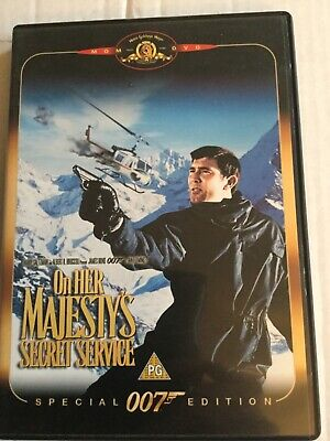 On Her Majesty's Secret Service  Dvd,1969,reg 2,ex Condition • 2.89£