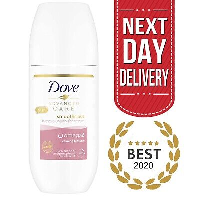 Dove Deodorant Roll On - Advance Care 48h Omega 6 Anti Perspirant | 100 Ml  • 2.99£