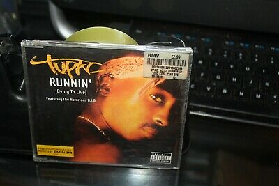 2Pac - Runnin' (Dying To Live) - Cd Single (BOX A4) • 1.99£