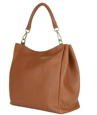 HOBBS Brown Tan Leather Helmsley Hobo Medium Shoulder Bag *STUNNING* RRP£229 • 75£