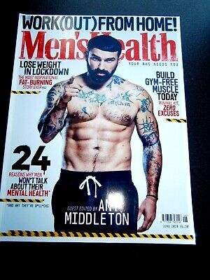 Men's Health Magazine June 2020 (new) • 4.15£