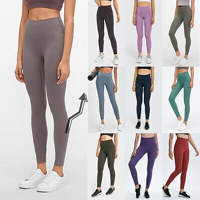 FITINCLINE Women's Leggings Buttery Soft Yoga Pant Gym Fitness No Front Seam  • 21.99£