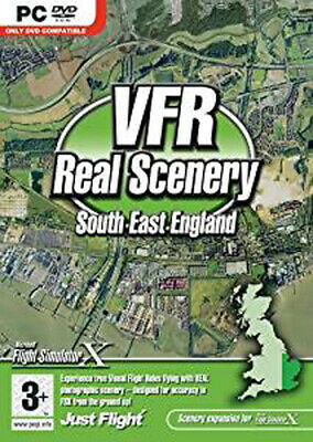 VFR Real Scenery Vol 1: South East England Add-On For FSX (PC DVD)  • 5.99£