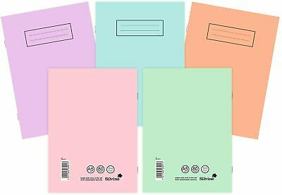 Silvine A4 A5 Exercise Books School Notebooks 80 Pages Class Children Homework • 2.89£