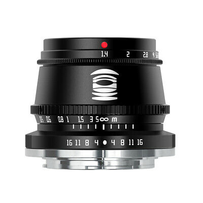 AU95.26 • Buy TTArtisans 35mm F1.4 APS-C Lens For Sony E Mount A5000 A5500 A6000 A6300
