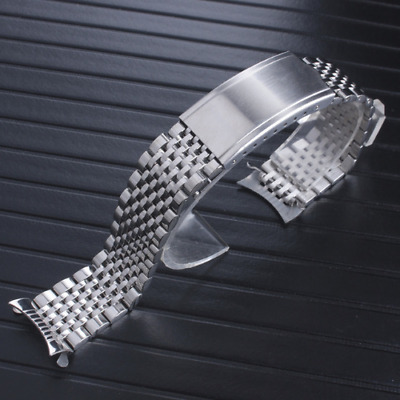 18MM 19MM 20MM Metal Replacement Watchband Strap Band Fits For Omega Watches • 27.32£