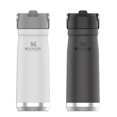 AU57.99 • Buy New STANLEY Adventure Vacuum Insulated 739ml Bottle Thermos Flask White Green
