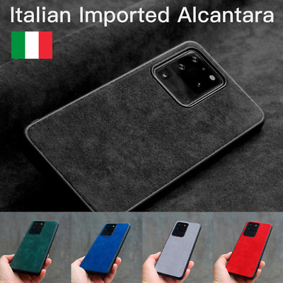AU34.81 • Buy Luxury Alcantara Leather Case For Samsung S20 Ultra S10 9 20+ Note20 10 Plus 5G