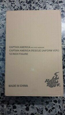 $ CDN807.76 • Buy Hot Toys MMS 180 Captain America (Rescue Uniform Version) Chris Evans Steve SEAL