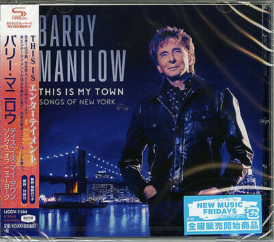 Barry Manilow-this Is My Town: Songs Of New York-japan Shm-cd F83 • 26.27£